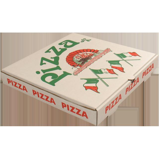 pizza box vegetale corrugated cardboard 29x29x3cm white 414952 neutraal horeca de. Black Bedroom Furniture Sets. Home Design Ideas