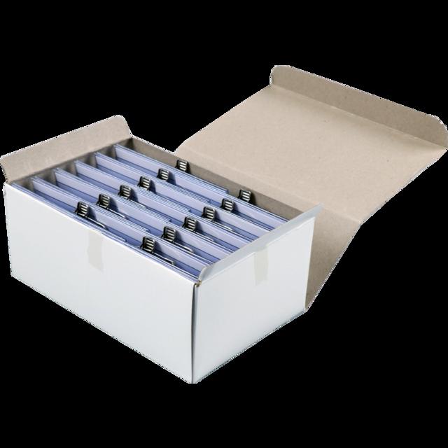 Visitenkartenhalter Kunststoff 95x65 Transparant